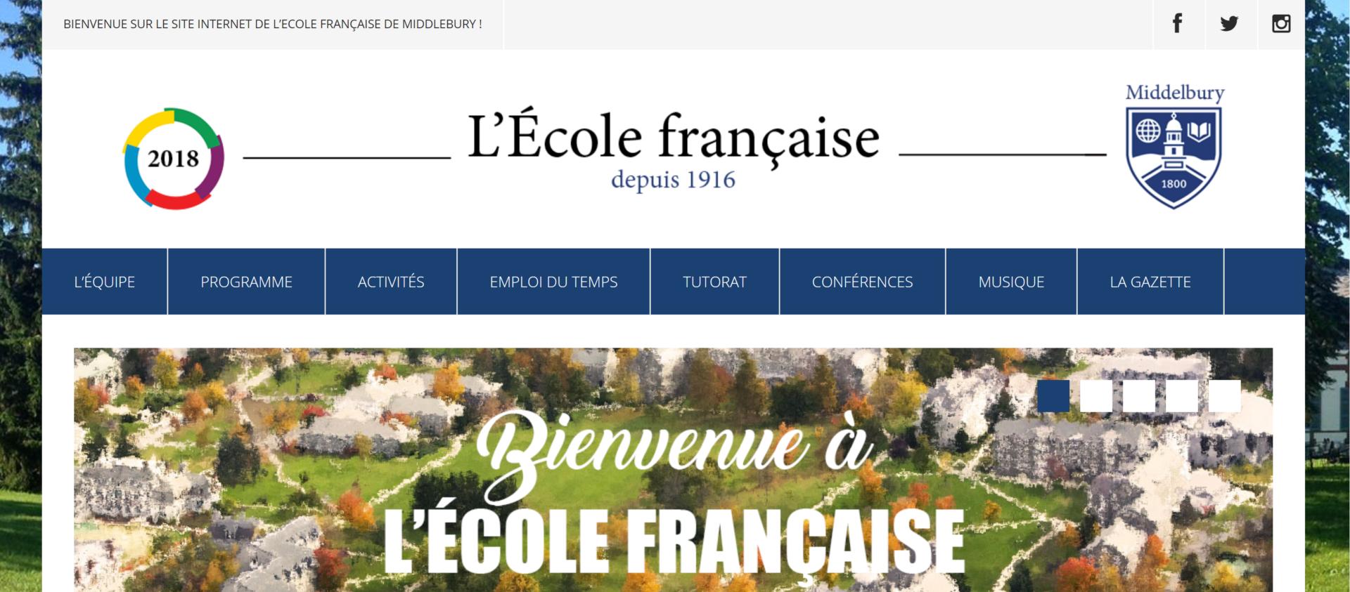 Site de l'École française