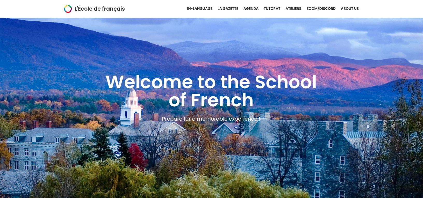 Ecole de français de Middlebury