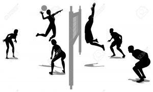 Match de volley contre (à déterminer)