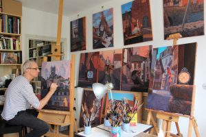 Atelier de présentation de l'art de la bande dessinée avec Miles Hyman @ Château 110 | Middlebury | Vermont | États-Unis