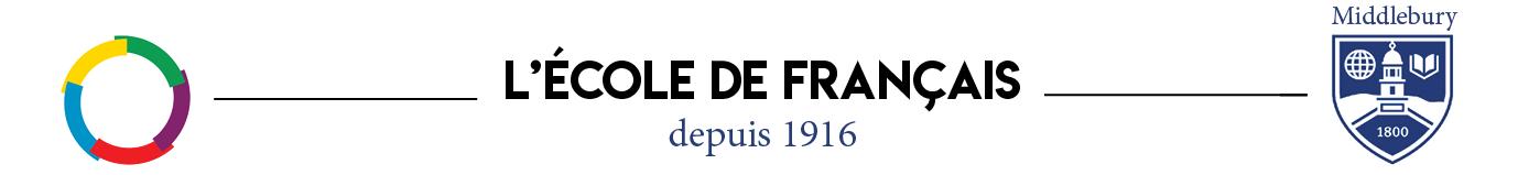 L'École de français